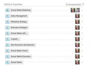 skills you can endorse LinkedIn
