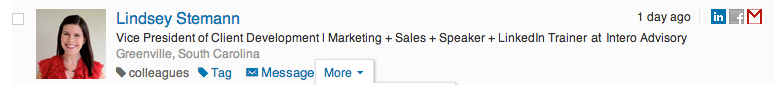 linkedin how I know you