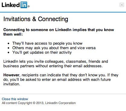 LinkedIn Connections