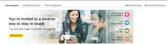 LinkedIn Contacts Invite