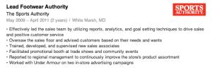 Example of a good job description on LinkedIn.