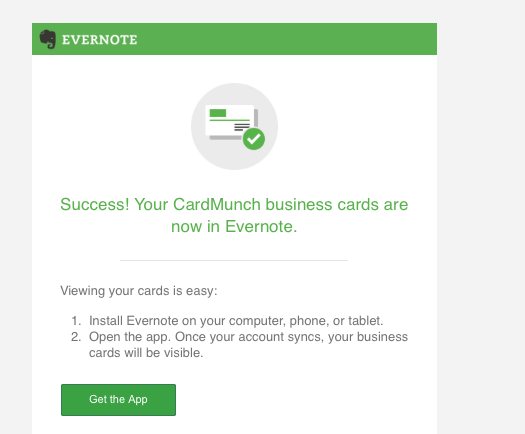 Linkedin Discontinues Cardmunch Appmove To Evernote Intero Advisory