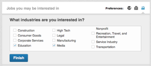 job preferences 3