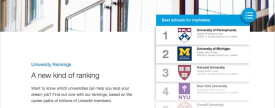 LinkedIn for Education