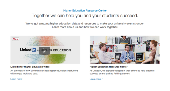 Higher Education Professionals' Resource Center