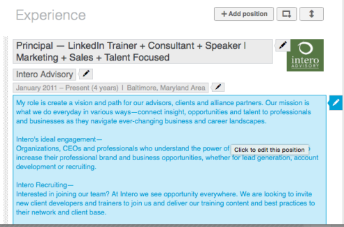 how to see when a linkedin profile was made