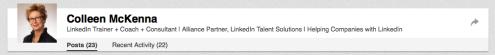 Content on LinkedIn