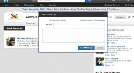 Group message edit