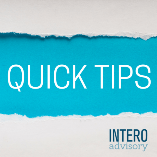 Quick Tips, LinkedIn