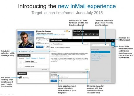 new inmail
