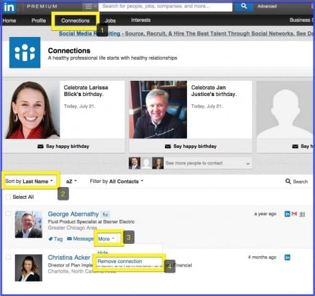 Clean Up Your Network: Remove Connections on LinkedIn