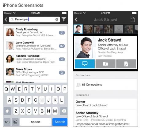 LinkedIn Recruiter app 1