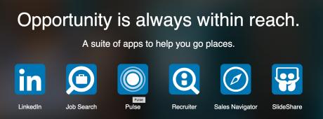 mobile app LinkedIn