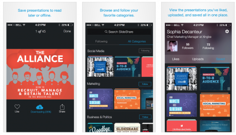 LinkedIn App Slideshare