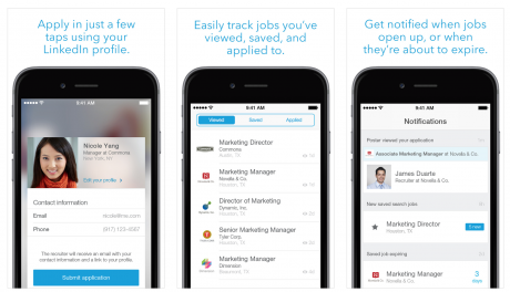 job search 2 linkedin app