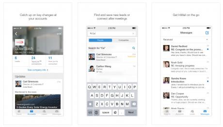 LinkedIn Sales Navigator app