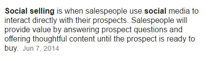Social Selling Hubspot