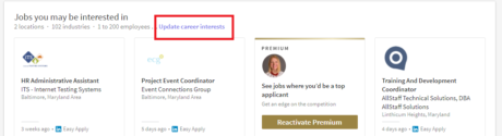 Setting Your Job Preferences in LinkedIn Jobs | Intero Advisory