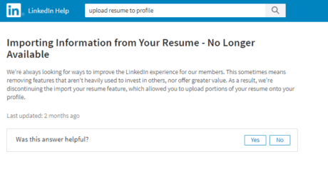 uploading a resume to your linkedin profile intero advisory