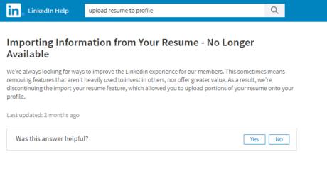 uploading a resume to your linkedin profile intero advisory
