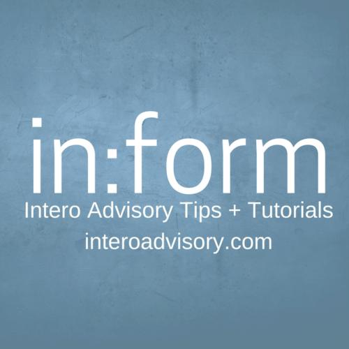 Inform Tip and Tutorials