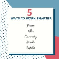 5 Tools to be more productive and work smarter save time