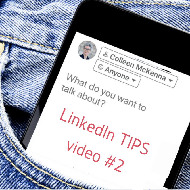 LinkedIn TIPS video two