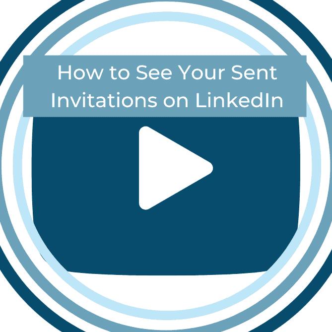 see who you sent invitations linkedin