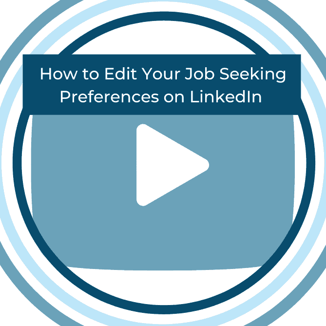 How To Edit Your Job Seeking Preferences On Linkedin Intero Advisory