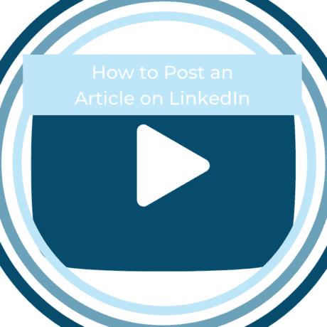article post LinkedIn