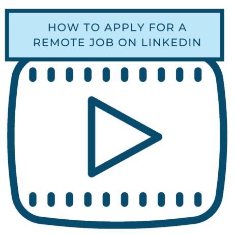 remote job LinkedIn