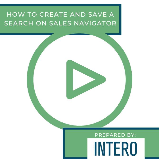 Sales Navigator Search