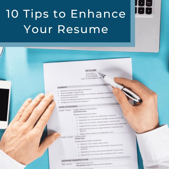 resume enhance